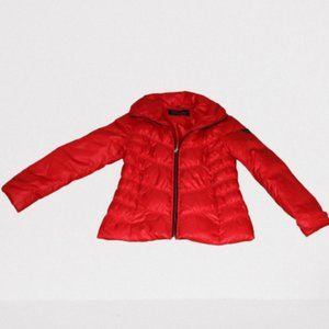 Guess Red Puffer Jacket Size M